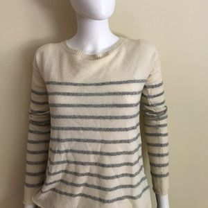 Vince silver striped sweater
